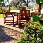 Roseville backyard paver